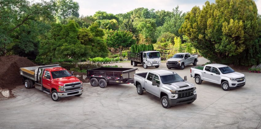 2020 Chevrolet Commercial Vehicle Lineup